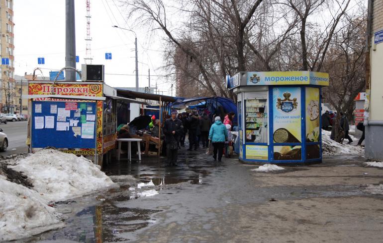 Челябинский рынок наулице Доватора прекращает свое существование